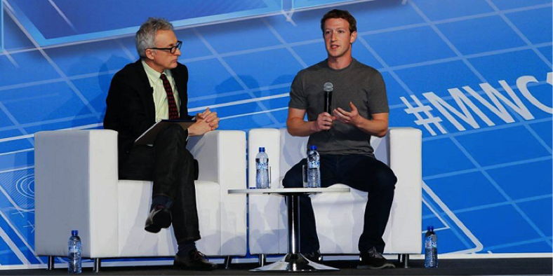 Mobile World Congress - Mark Zuckerberg & Jan Koum