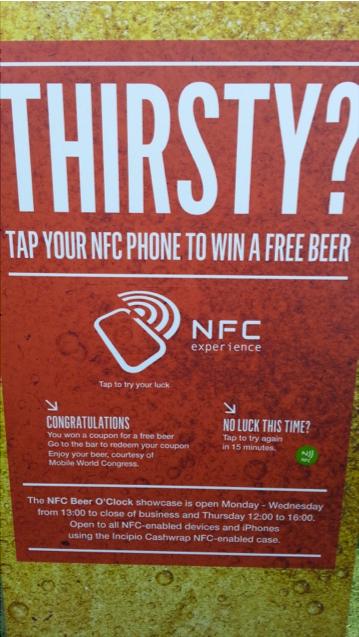 Mobile World Congress 2014 - NFC