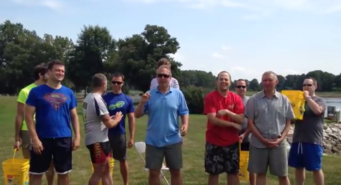 #IceBucketChallenge: Watch Message Systems' CEO Get Soaked for a Great Cause