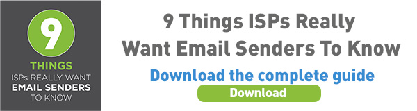 What ISPs Really Want Email Senders To Know
