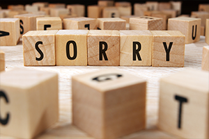 How to Say You're Sorry When Your Email Goes Bad