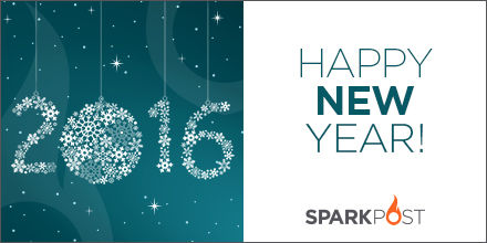 Happy 2016 from SparkPost