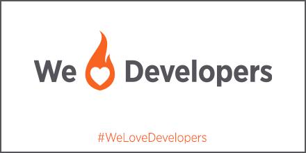 white we heart developers banner twitter awards