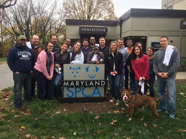 Maryland SPCA Volunteer day