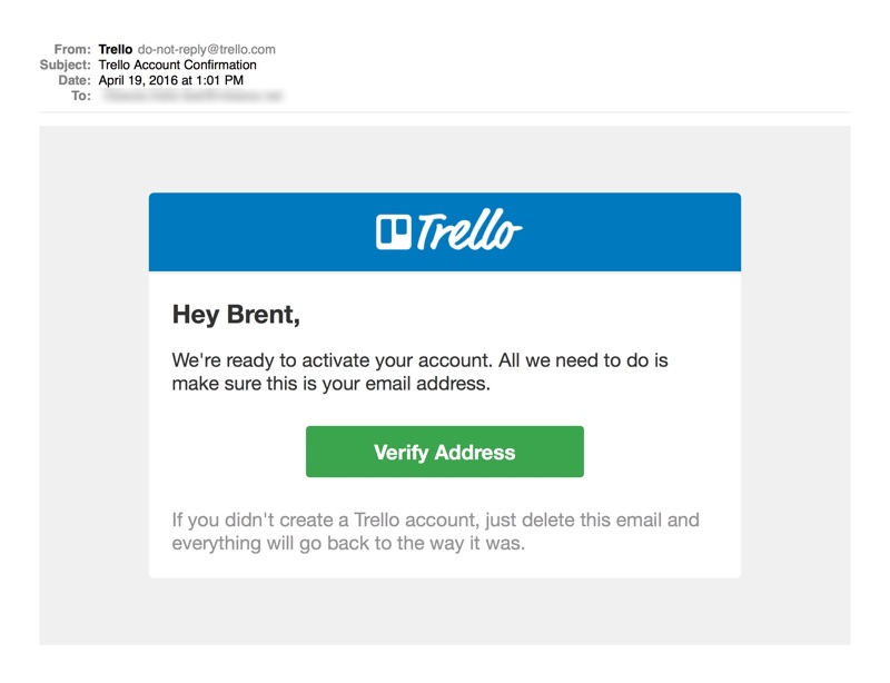 Onboarding Email: Trello Opt-In