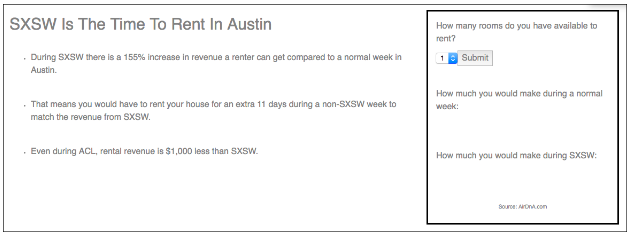 SXSW Growth hacker