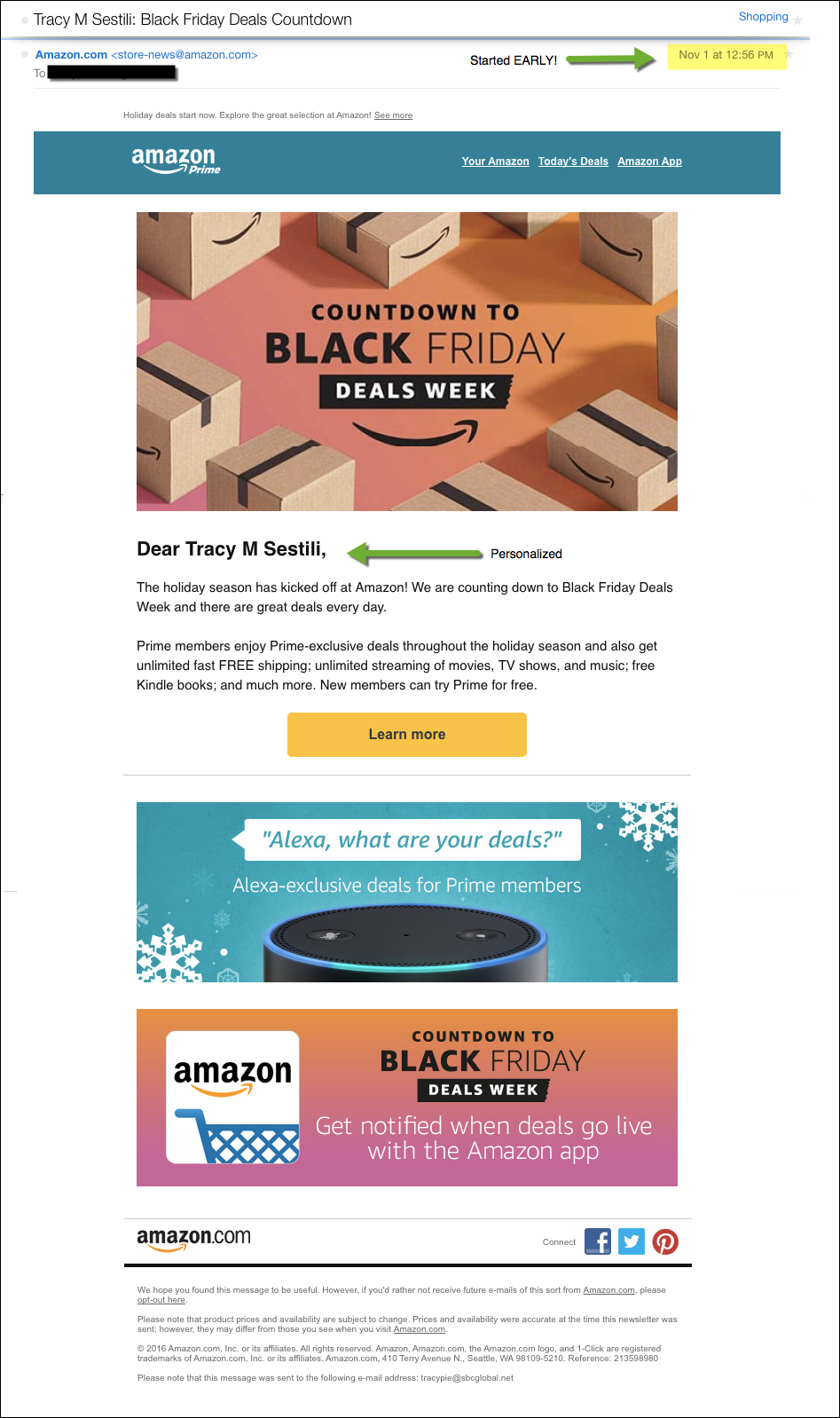 Best Black Friday Email Campaigns 2016 Sparkpost