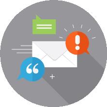 Enterprise email multichannel