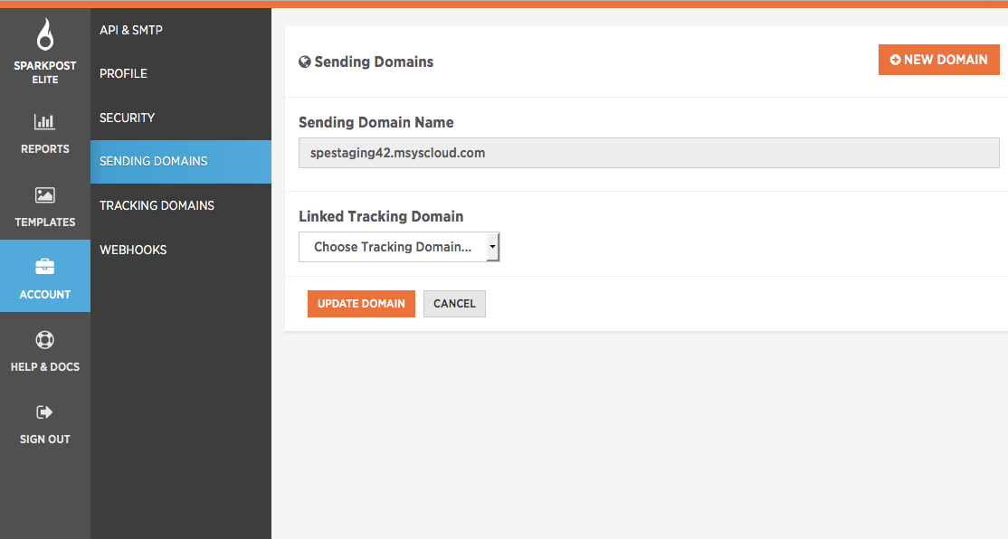 custom tracking domains
