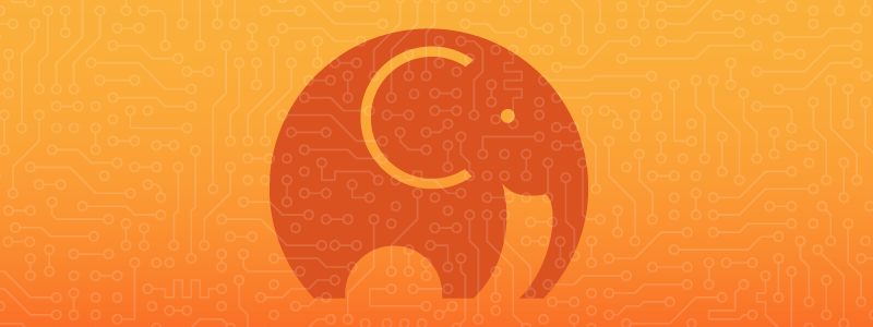 Orange Background elephant php client library