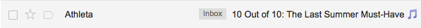 athleta email subject line summer email campaigns
