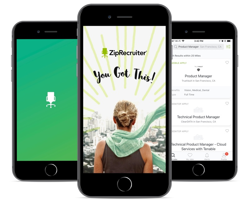 ZipRecruiter app experience
