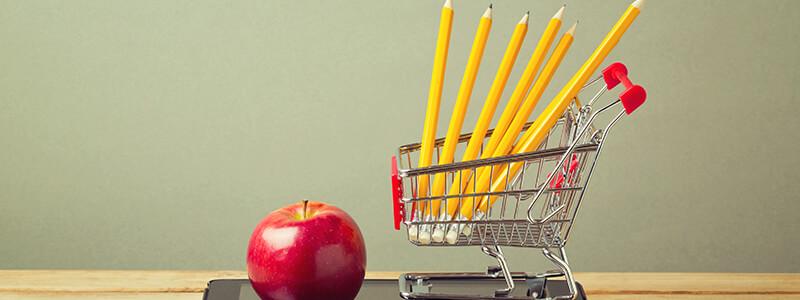 school shopping