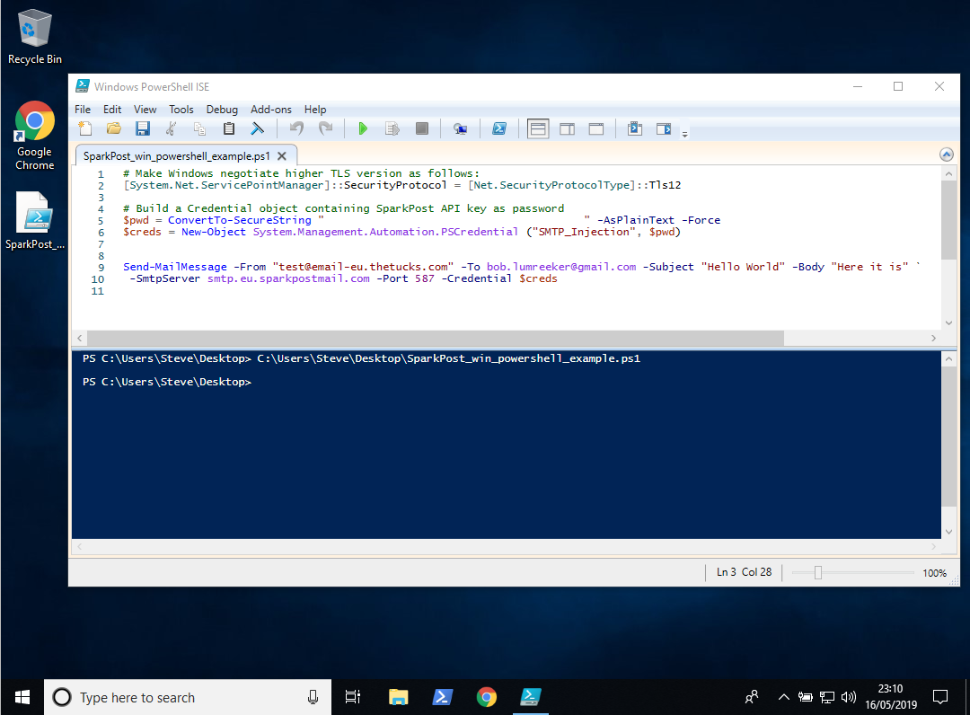 Windows PowerShell ISE инструкция