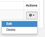 Update API Key